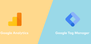 Google Analytics to Tag Manager header